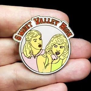 Sweet Valley High 80's lapel pin.